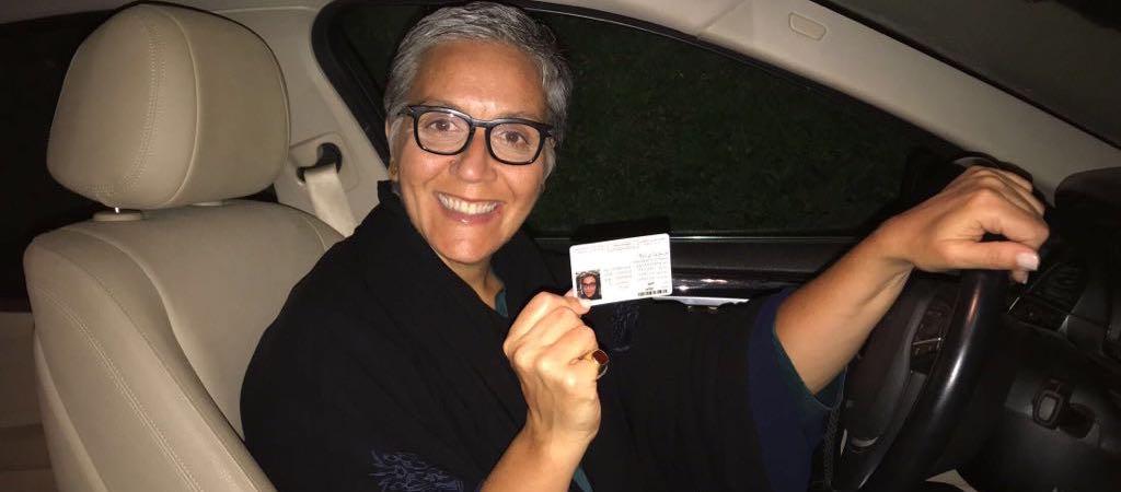 ChangeXperience - Erika Bezzo - La prima donna italiana ad acquisire la patente in Arabia Saudita?